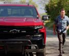 Chevrolet Silverado LT Red Pickup Truck Driven by Alex O'Loughlin in Hawaii Five-0 S10E22 (7)