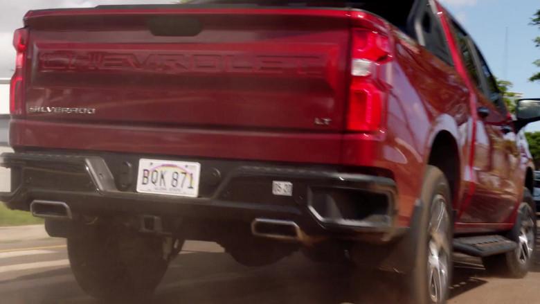 Chevrolet Silverado LT Red Pickup Truck Driven by Alex O'Loughlin in Hawaii Five-0 S10E22 (8)