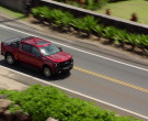 Chevrolet Silverado LT Red Pickup Truck Driven by Alex O'Loughlin in Hawaii Five-0 S10E22 (9)