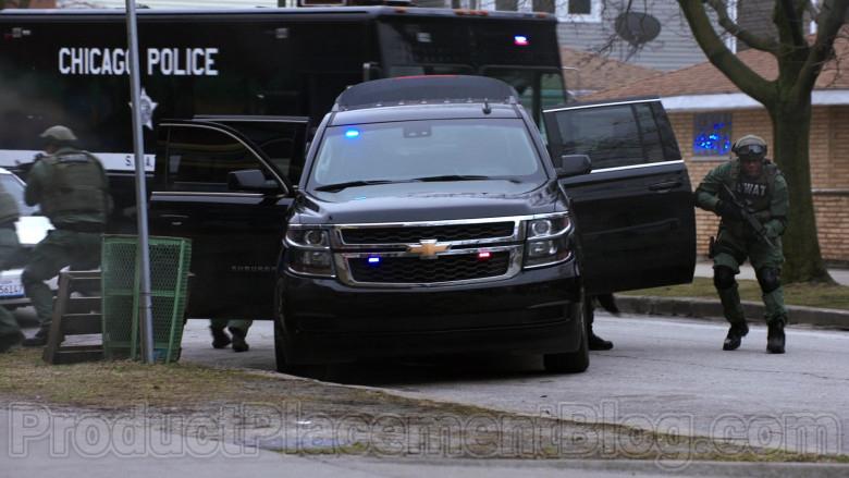 Chevrolet Suburban Black Car in Chicago Med S05E20 (2)