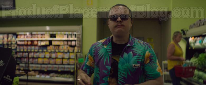 Clark Duke as Swin Wearing Jams World Hawaiian Print Shirts in Arkansas Movie (1)