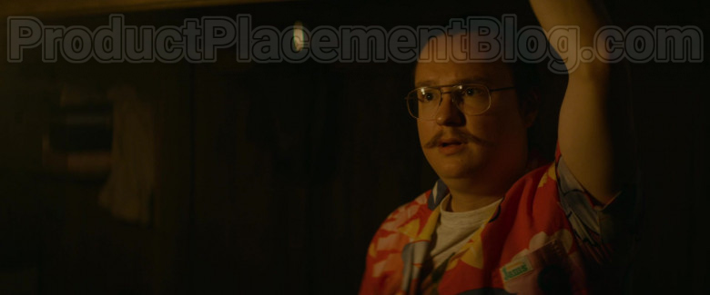 Clark Duke as Swin Wearing Jams World Hawaiian Print Shirts in Arkansas Movie (5)