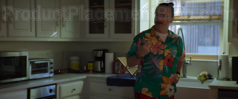 Clark Duke as Swin Wearing Jams World Hawaiian Print Shirts in Arkansas Movie (8)