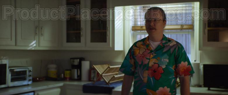 Clark Duke as Swin Wearing Jams World Hawaiian Print Shirts in Arkansas Movie (9)