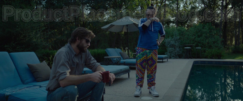 Clark Duke as Swin Wearing Jordan Shoes in Arkansas Movie (1)