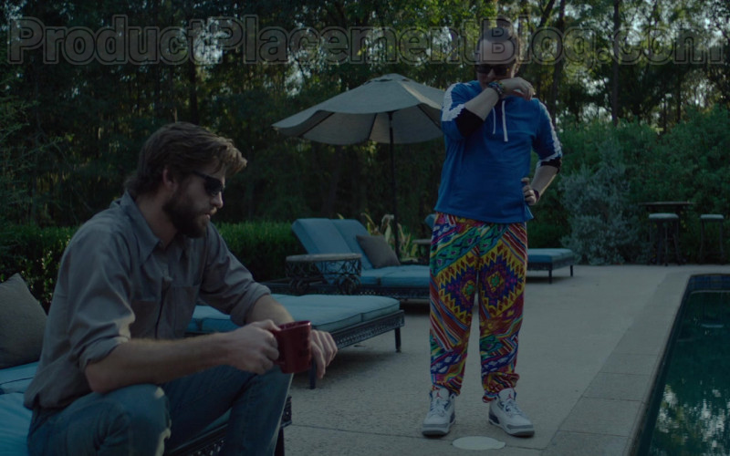 Clark Duke as Swin Wearing Jordan Shoes in Arkansas Movie (1)