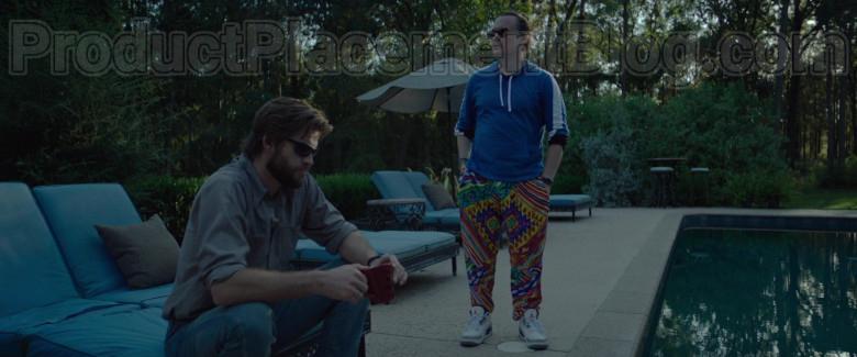 Clark Duke as Swin Wearing Jordan Shoes in Arkansas Movie (3)