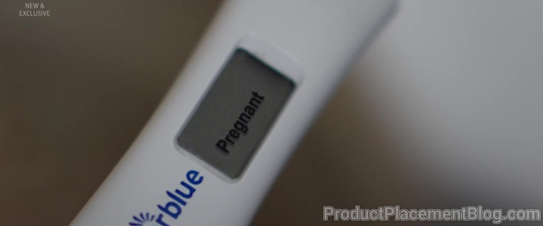 Clearblue Pregnancy Test in Flack S02E01