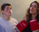 Cleto Reyes Boxing Gloves in The House of Flowers S03E09 HY...