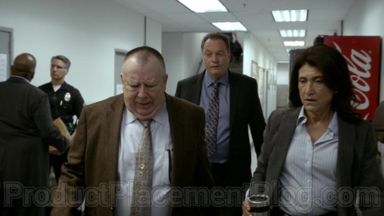 Coca-Cola Refrigerator in Bosch S06E09 Dark Sacred Night (2020)