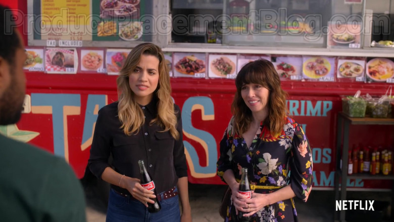 Coca-Cola Soda Enjoyed by Linda Cardellini as Judy Hale in Dead to Me Season 2