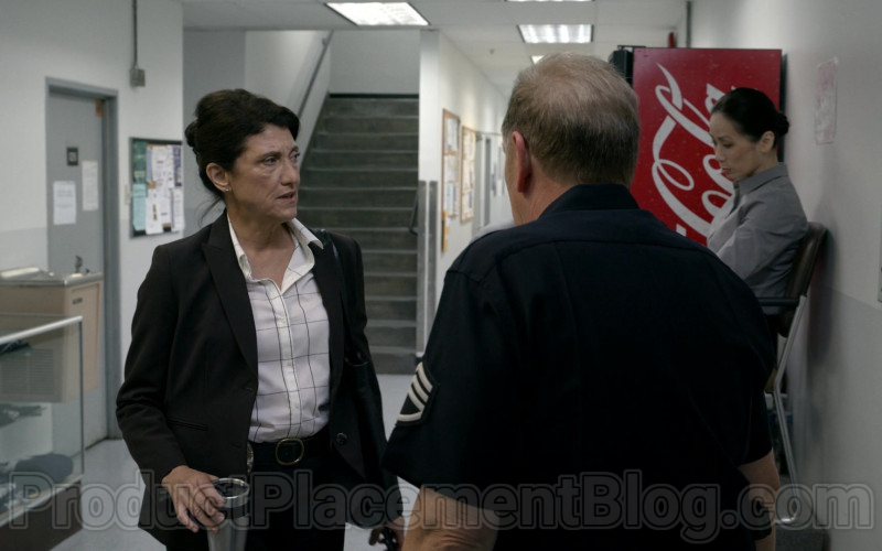 Coca-Cola Vending Machine in Bosch S06E05 Money, Honey
