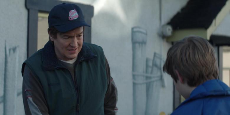 Columbia Men's Green Vest in Home Before Dark S01E05 (2)