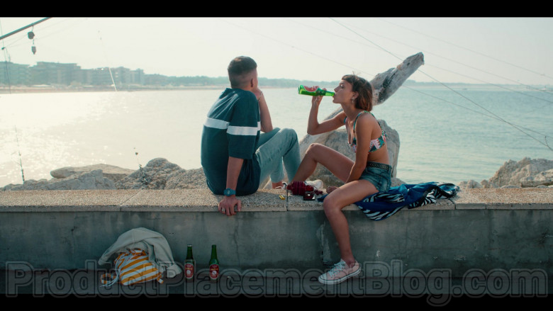 Converse Sneakers of Alice Ann Edogamhe as Blue in Summertime S01E02