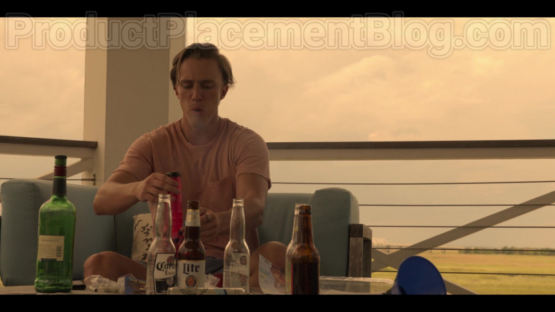 Corona Extra and Miller Light Beer in Outer Banks S01E08 (2)