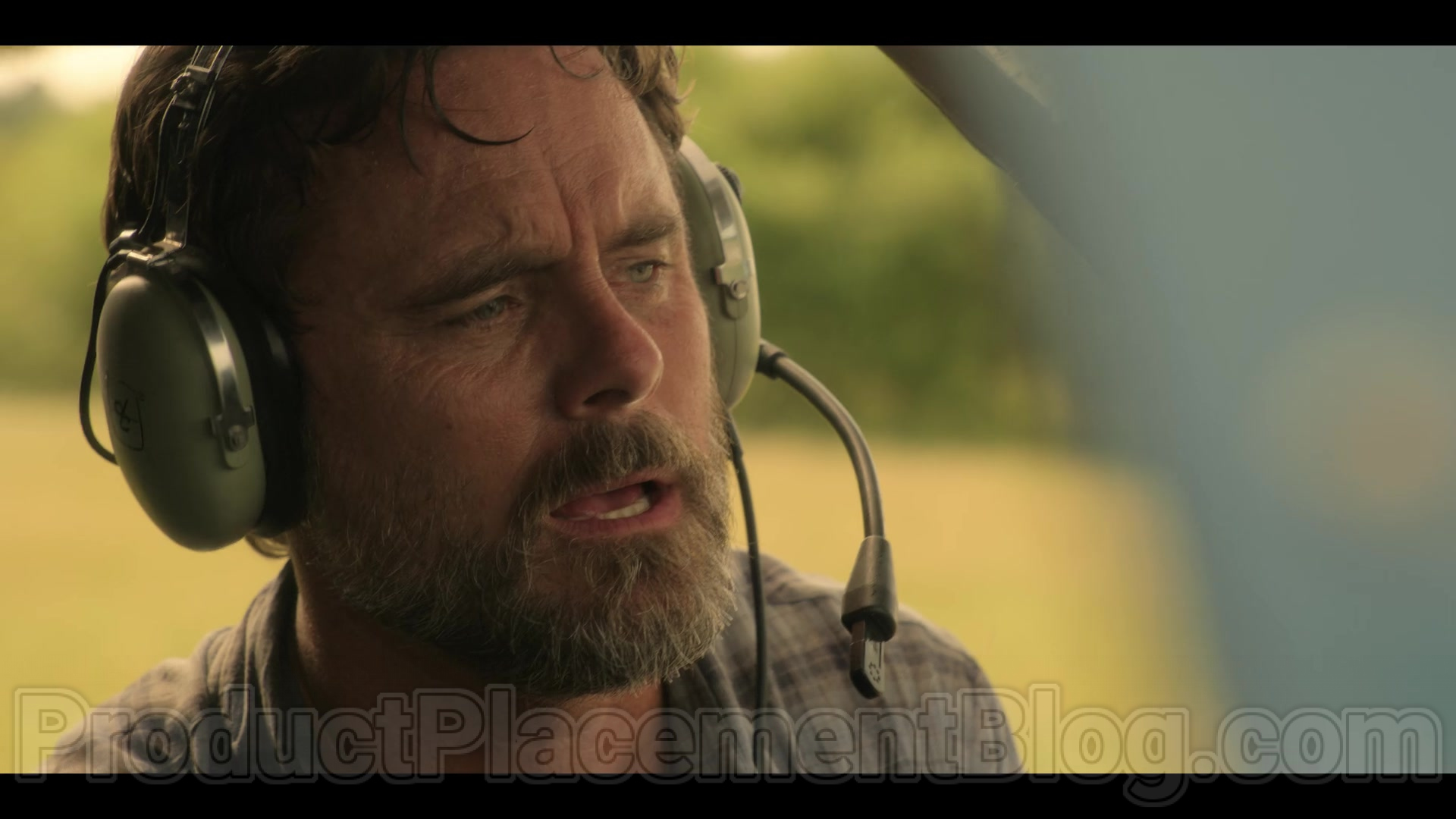 David Clark Headsets Used By Charles Esten In Outer Banks S01e09