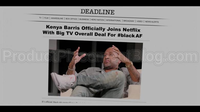 Deadline Hollywood Online News Site in #blackAF S01E01 (2)