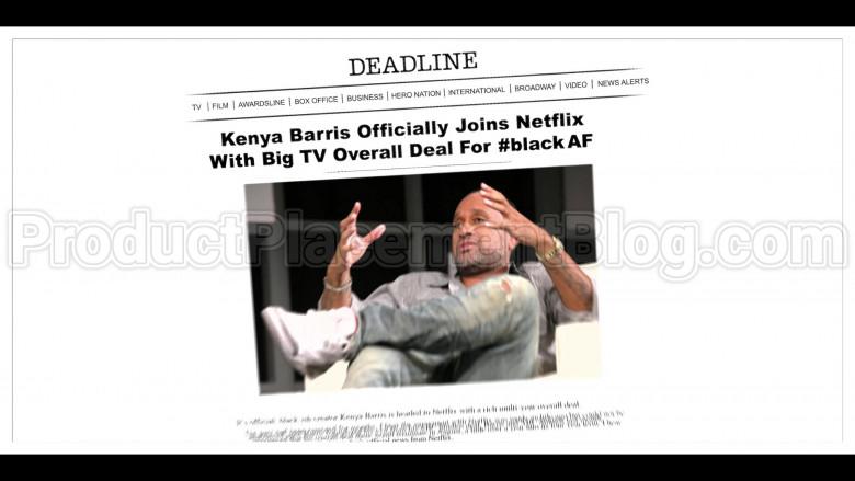 Deadline and Netflix in #blackAF S01E05