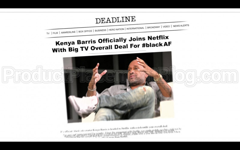 Deadline and Netflix in #blackAF S01E05