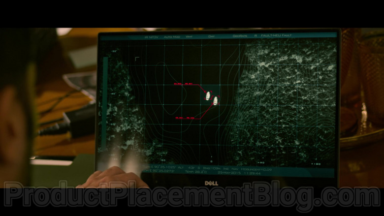 Dell Laptop in Extraction Netflix Movie (2)