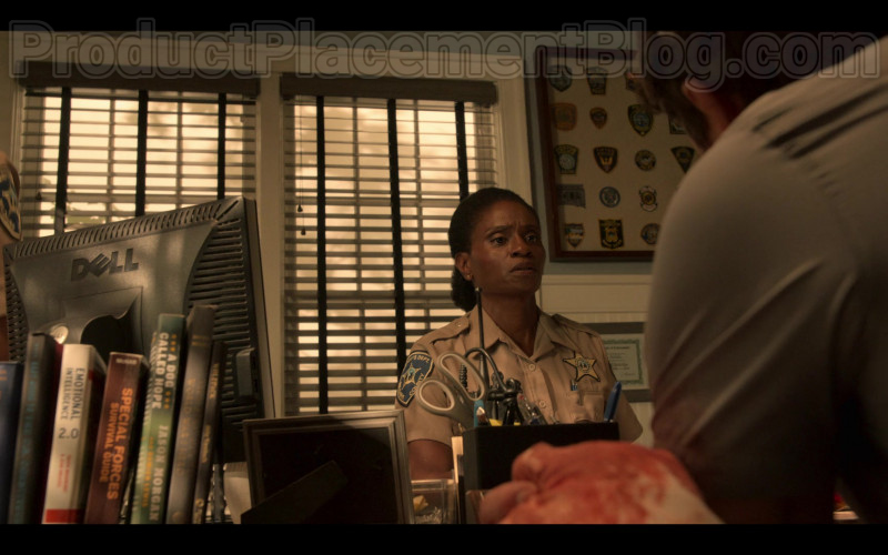 Dell Monitor Used by Adina Porter as Sheriff Peterkin in Outer Banks S01E08