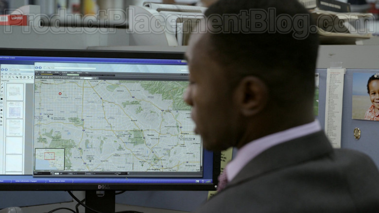Dell Monitor Used by Jamie Hector as Detective II Jerry Edgar in Bosch S06E02 (1)