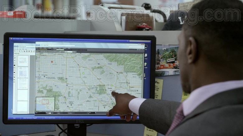 Dell Monitor Used by Jamie Hector as Detective II Jerry Edgar in Bosch S06E02 (2)