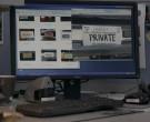 Dell Monitors in Bosch S06E01 The Overlook (2020)