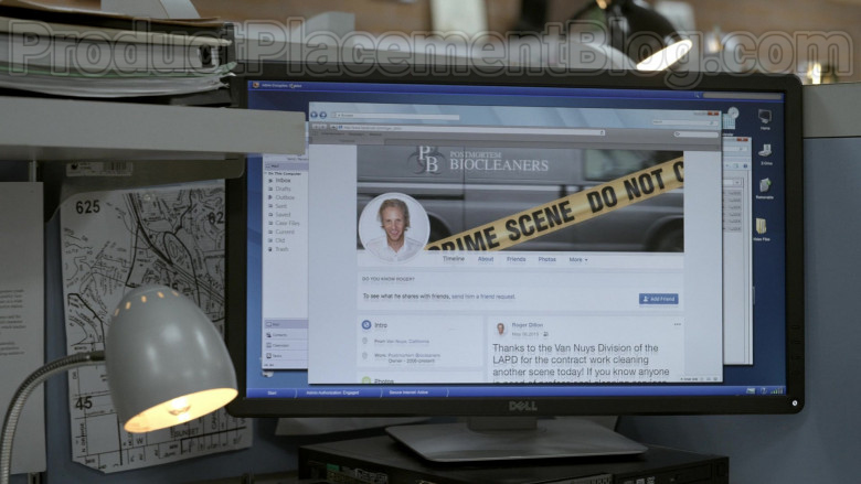 Dell Monitors in Bosch S06E09 Dark Sacred Night (2021)