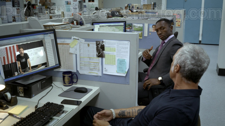 Dell PC and Monitor Used by Titus Welliver in Bosch S06E02