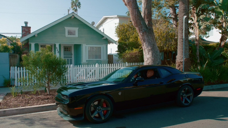 Dodge Challenger SRT Black Muscle Car in NCIS Los Angeles S11E20 (1)