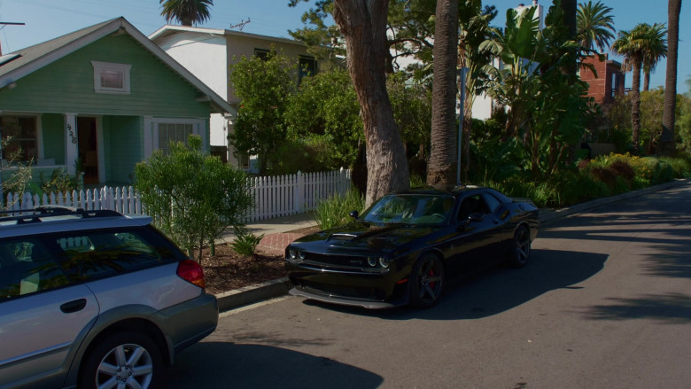 Dodge Challenger SRT Black Muscle Car in NCIS Los Angeles S11E20 (2)
