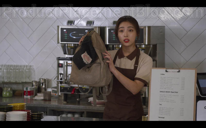 Eastpak Backpack in Extracurricular S01E01 (2020)