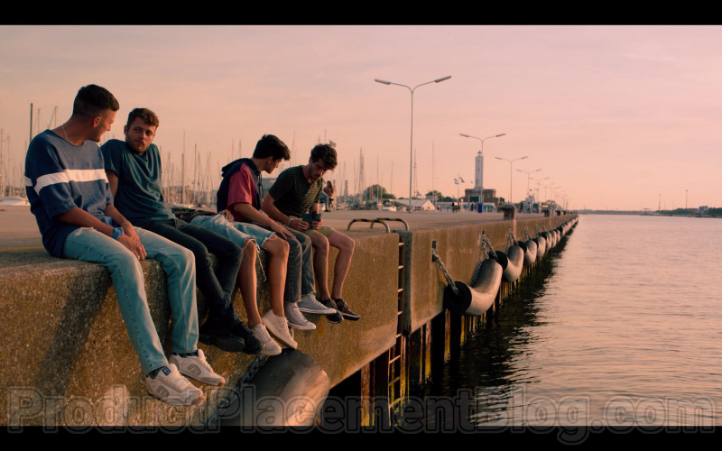 Etnies Sneakers of Andrea Lattanzi as Dario in Summertime S01E02 Just You & I (3)