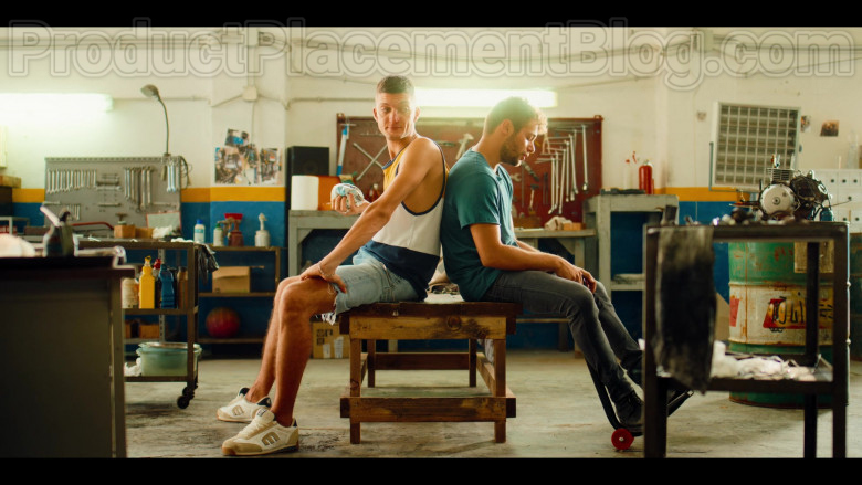 Etnies Trainers Worn by Andrea Lattanzi as Dario in Summertime S01E08 Another Winter 2020 (Netflix Original Series) (1)