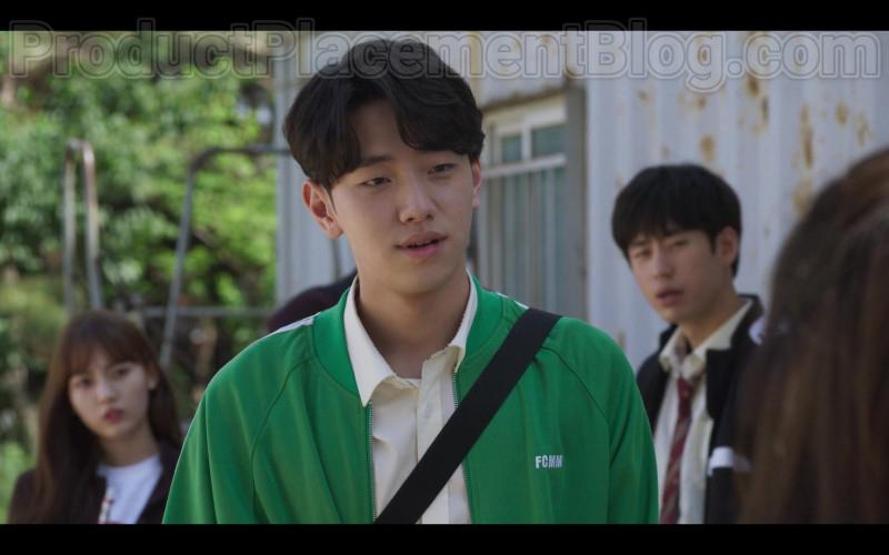 FCMM Green Jacket For Men in Extracurricular Korean Netflix TV Show 2020 (1)