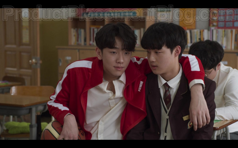 FCMM Red Jacket For Men in Extracurricular S01E01
