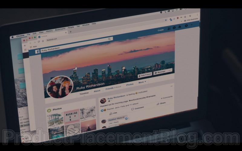 Facebook Social Network in Run S01E02 (1)