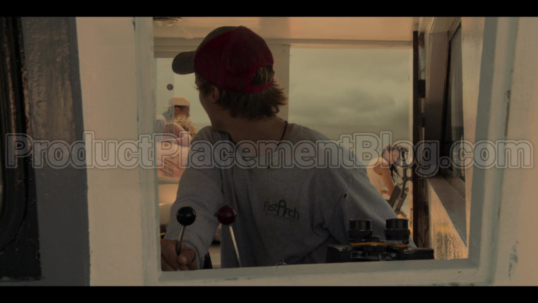 Fast Arch (FastArch.net) T-Sweatshirt of Rudy Pankow as JJ in Outer Banks S01E03 in Outer Banks S01E03 (3)