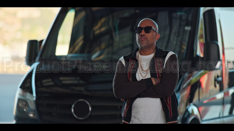 Fendi Tracksuit (Jacket and Pants Outfit) Worn by Kenya Barris in #blackAF S01E07 (4)