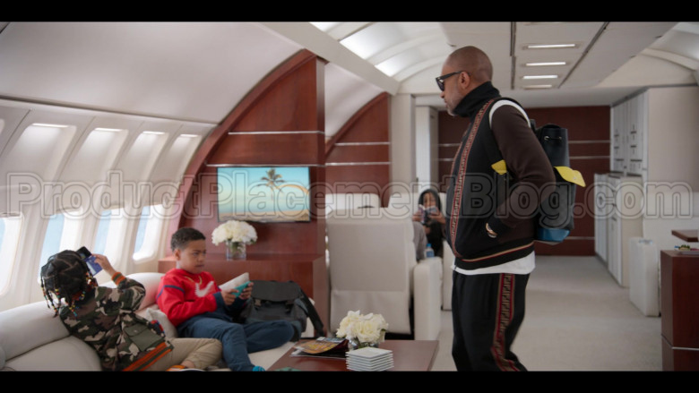 Fendi Tracksuit (Jacket and Pants Outfit) Worn by Kenya Barris in #blackAF S01E07 (8)