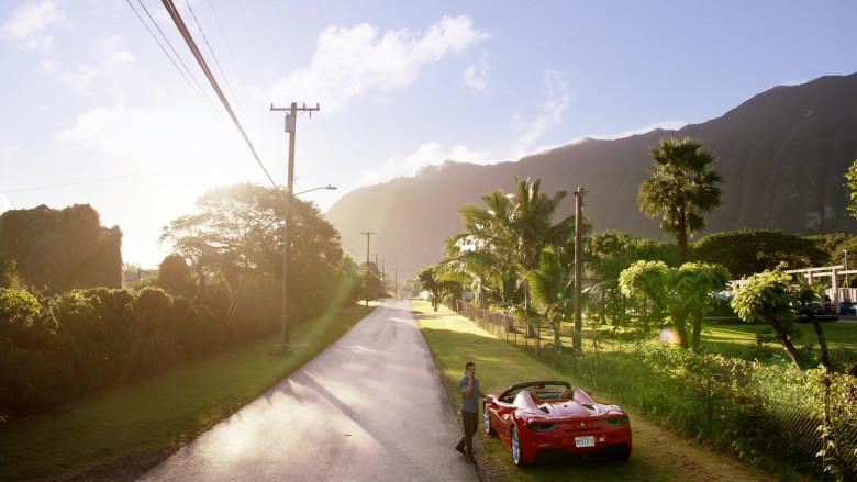 Ferrari Red Convertible Sports Car in Magnum P.I. S02E15 (1)