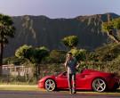 Ferrari Red Convertible Sports Car in Magnum P.I. S02E15 Sa...