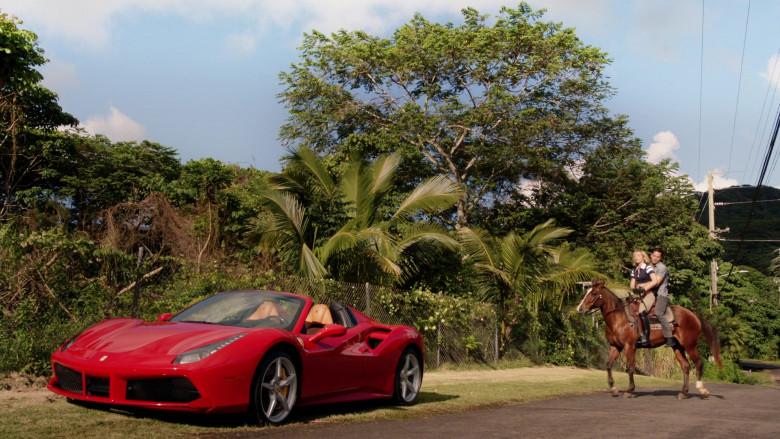 Ferrari Red Convertible Sports Car in Magnum P.I. S02E15 (3)