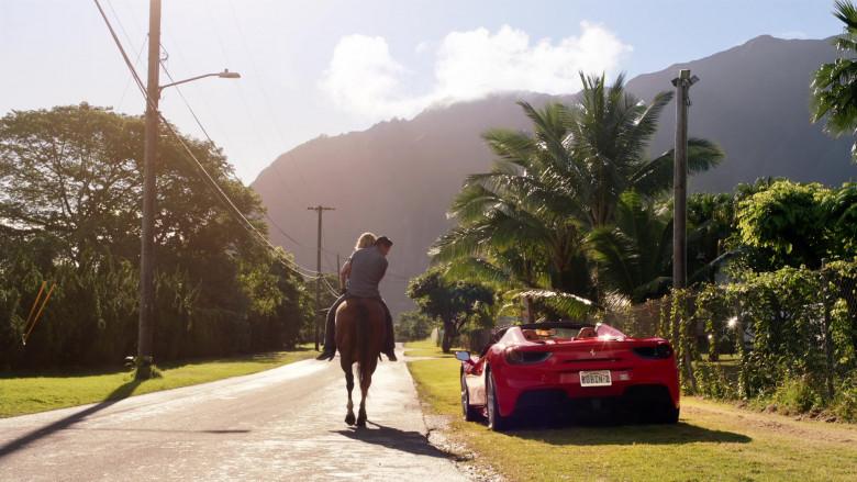 Ferrari Red Convertible Sports Car in Magnum P.I. S02E15 (4)