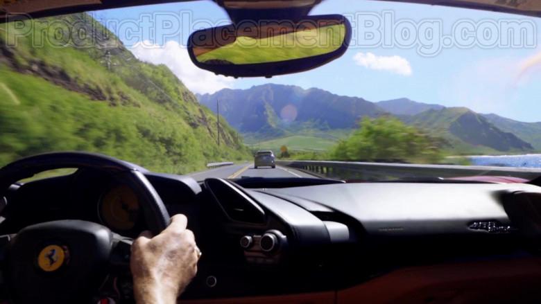 Ferrari Red Convertible Sports Car in Magnum P.I. S02E17 TV Series (1)