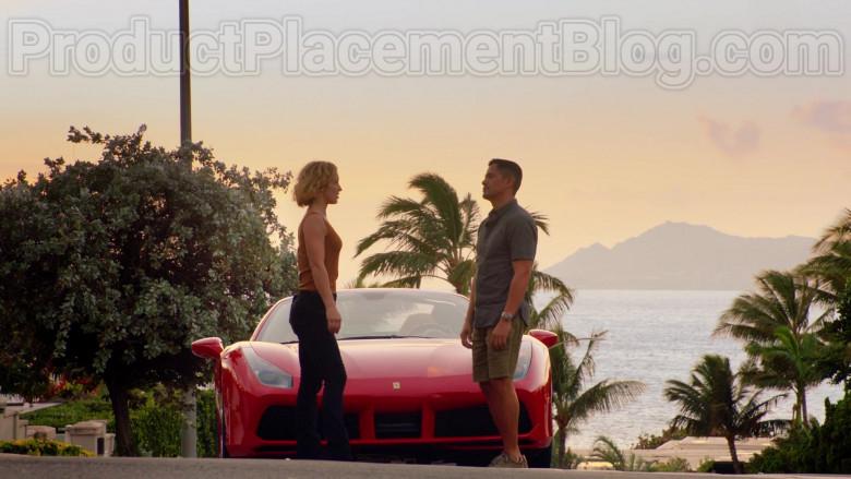 Ferrari Red Convertible Sports Car in Magnum P.I. S02E17 TV Series (12)