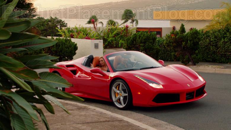 Ferrari Red Convertible Sports Car in Magnum P.I. S02E17 TV Series (13)