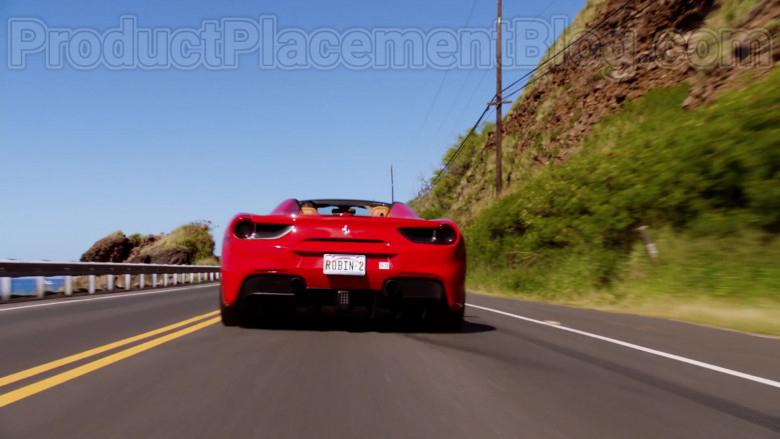 Ferrari Red Convertible Sports Car in Magnum P.I. S02E17 TV Series (2)