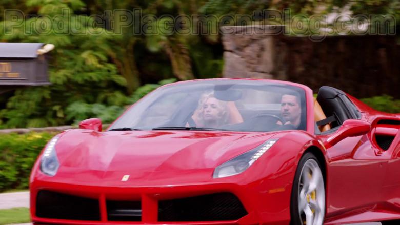 Ferrari Red Convertible Sports Car in Magnum P.I. S02E17 TV Series (3)